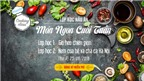 Tham gia miễn phí lớp học nấu ăn (lần 4) – Chủ đề: Món ngon cuối tuần