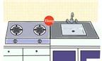 Phong thủy: Hóa giải sai lầm chí mạng trong bố cục phòng bếp
